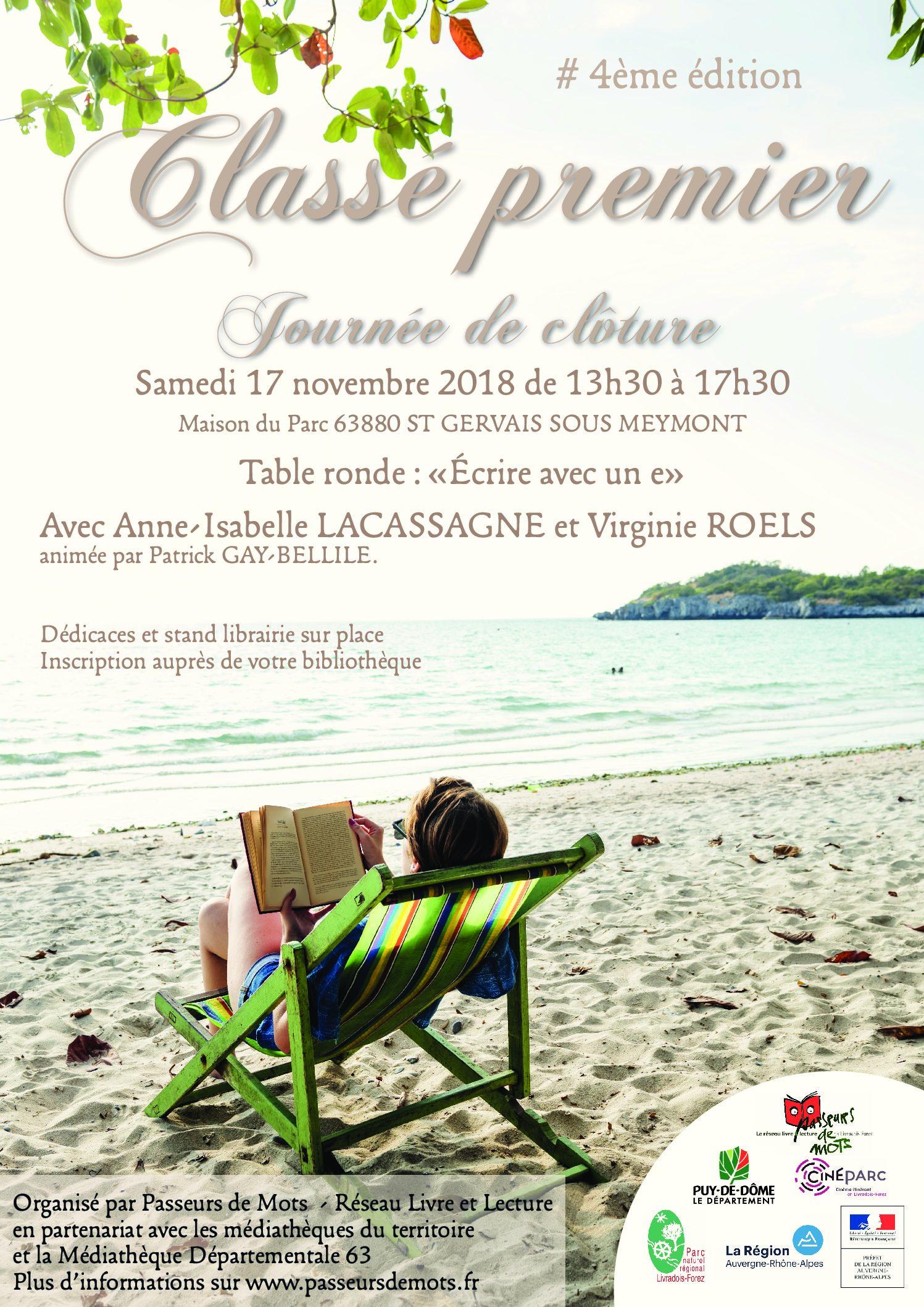 Classé Premier 4ème éditionjournée De Clôture Samedi 17 Novembre